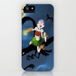 Badb -Battle Crow iPhone Case