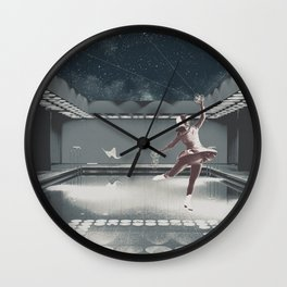 Wherever I Please I Wall Clock