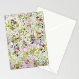 des fleurs et des mots Stationery Cards