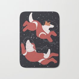 Belka and Strelka - Space Dogs Bath Mat