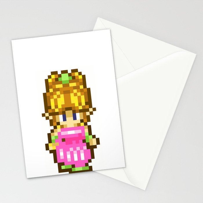 Secret of Mana Girl Stationery Cards