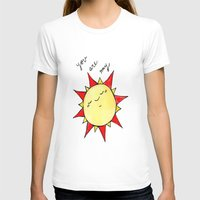 you are my sunshine T-shirts featuring Sunshine  by BriannaCamp