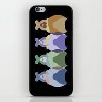 bears iPhone & iPod Skins featuring Bears by TypicalArtGuy