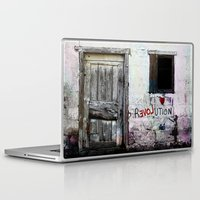 revolution Laptop & iPad Skins featuring rEVOLution by Bärdie D/Sign
