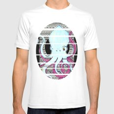 Octopusss Mens Fitted Tee SMALL White