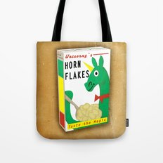Horn Flakes Cereal Tote Bag