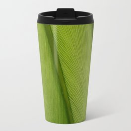 Green Leaf Texture 05 Travel Mug