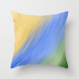 Earth Tonez Throw Pillow