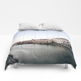 Ponte Vecchio in Florence Comforters