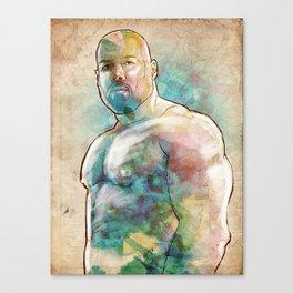 Muscle Bear Canvas Print