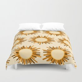 Art Deco Starburst Duvet Cover