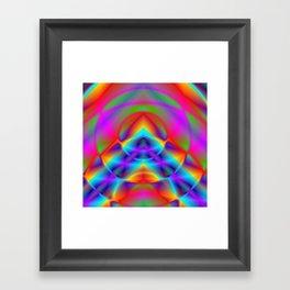 CAPSTONE RAINBOW Framed Art Print