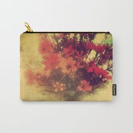 Vintage Flowers of August Carry-All Pouch