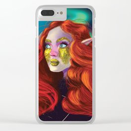 Constellation Clear iPhone Case