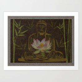 Jewel in the Lotus Art Print