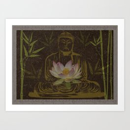 Jewel in the Lotus Art Print