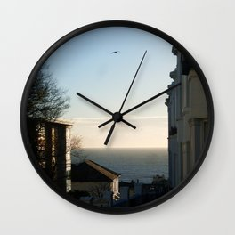 The View from Brighton Wall Clock