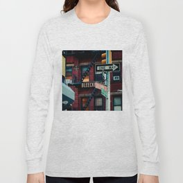 Bleecker & Sullivan Street Long Sleeve T-shirt