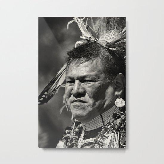 Dakota chief Metal Print
