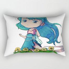Nature goddess Rectangular Pillow