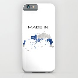 Made in greece. Greek. Athens iPhone Case