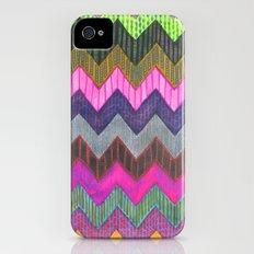 PATTERN {Chevron 002} iPhone (4, 4s) Slim Case