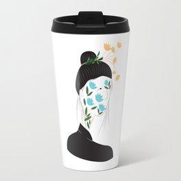 Lotus Face Travel Mug