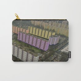 Colorful Block Buildings - Bekasmegyer - Budapest Carry-All Pouch
