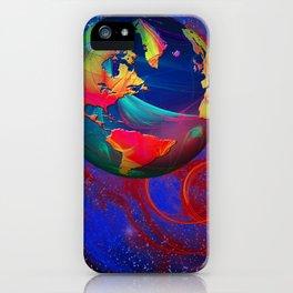 Fractal World iPhone Case