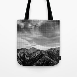 Mount Hutt Sky Tote Bag