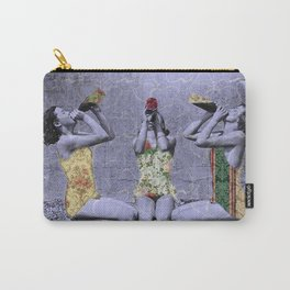 the three women pattern Carry-All Pouch