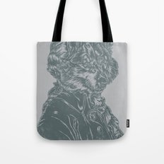 Wolf Amadeus Mozart Tote Bag