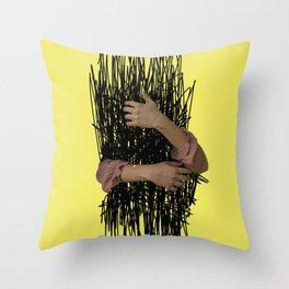 embrace chaos Throw Pillow