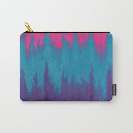 Very Vibrant Abstract Trees on Fire Carry-All Pouch