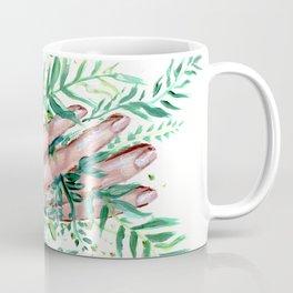 grasping straws Coffee Mug