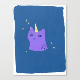 Unikitty Kittycorn Canvas Print