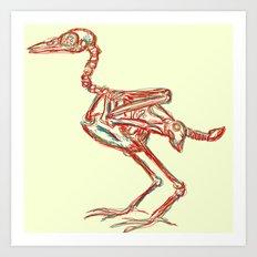 Corvus Corax Art Print