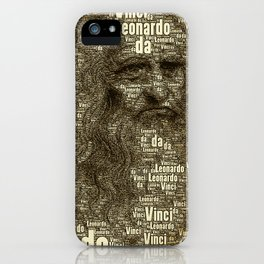 Leonardo da Vinci iPhone Case