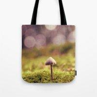 mushroom Tote Bags featuring mushroom by anitaa