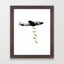 Banana Underground Framed Art Print