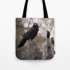Cross Sitters Tote Bag
