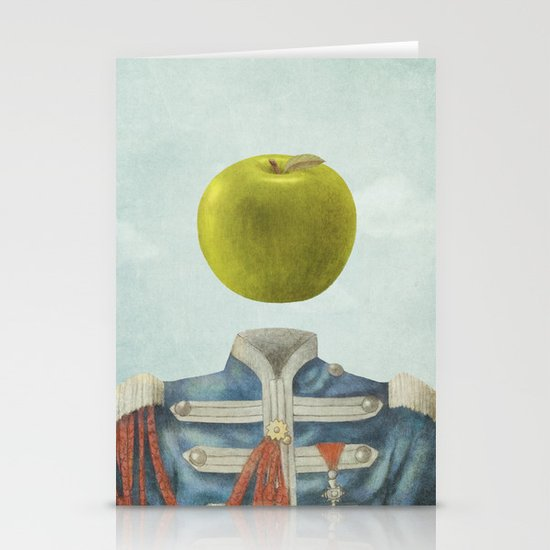 Sgt. Apple  Stationery Cards
