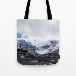 Jasper Glaciers | Landscape Photography | Mountains and Clouds | Skyscape Tote Bag