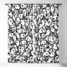Little ghosts Blackout Curtain