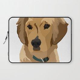 Beau the Golden Retriever Puppy Laptop Sleeve