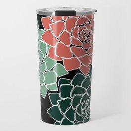 Succulents Travel Mug