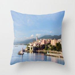 Bastia, Corsica  Throw Pillow