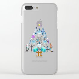 Oh Chemistry, Oh Chemist Tree Clear iPhone Case