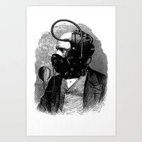 bdsm Art Prints featuring BDSM X by DIVIDUS