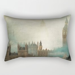 London Surreal Rectangular Pillow